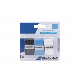Surgrips Babolat my overgrip (noir, bleu, blanc)