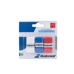 Surgrips Babolat my overgrip (blanc, bleu, rouge)